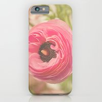 iPhone & iPod Case featuring The Pretty Pink Ranunculus by Angela Stansell Photography