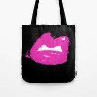 Pop Art Lip Tote Bag