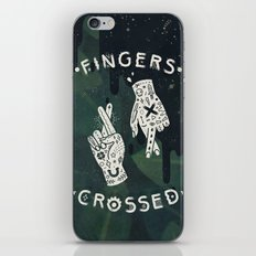 Good Luck / I'm Lying iPhone & iPod Skin
