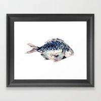 Fairytale Fish Framed Art Print