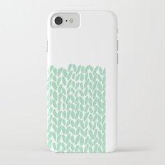 Half Knit Mint iPhone 7 Slim Case