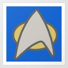 Star Trek, Communicator, 2 Art Print
