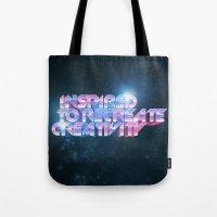 Inspired Recreativity. Tote Bag