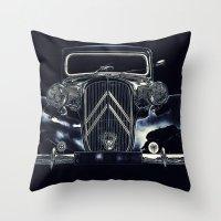 the legendary CV11 Throw Pillow