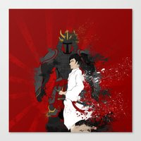 Samurai Warrior Canvas Print