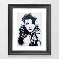 Looking Into You Framed Art Print