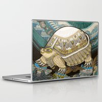 turtle Laptop & iPad Skins featuring Turtle by Yuliya
