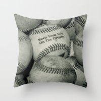 Keep Your Eye On The Dre… Throw Pillow
