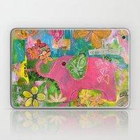 Amazing You Pink Elephant Laptop & iPad Skin