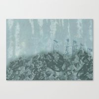 Underwater Ledge Canvas Print