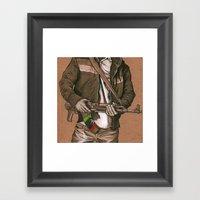 Freedom Fighter Framed Art Print