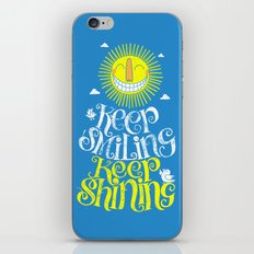 SMILE & SHINE iPhone & iPod Skin