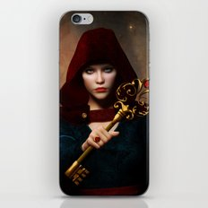 Key of wisdom iPhone & iPod Skin