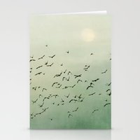 Over the Mountain Tops Stationery Cards