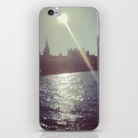 Big Ben Silhouette   iPhone & iPod Skin