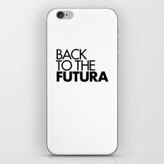 Back to the Futura iPhone & iPod Skin