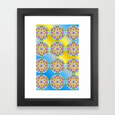Let the Sun Shine in! Framed Art Print