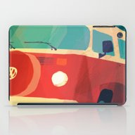 iPad Case featuring Kombi Klose 3 by Buster Fidez