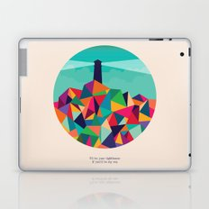 I'll be your lighthouse if you'll be my sea Laptop & iPad Skin