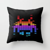 Space Equaliser Throw Pillow