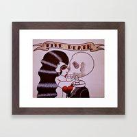 Till Death Framed Art Print
