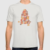 Kirk's Trouble With Tribbles (Star Trek) Mens Fitted Tee Silver SMALL