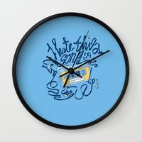 Sad song Wall Clock