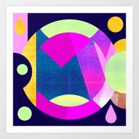 Abstractions No. 5: Pyramid Art Print