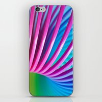 Rainbow Spring 10 iPhone & iPod Skin