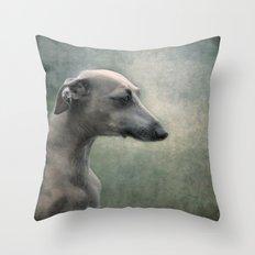 Pensive.... Throw Pillow