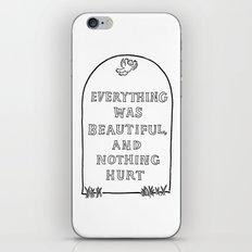 Vonnegut -  Billy Pilgrim iPhone & iPod Skin