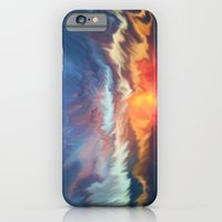 iPhone Cases featuring Sunset sky by jbjart