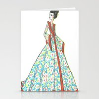 Geisha. Stationery Cards