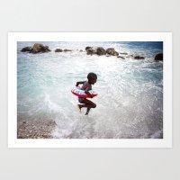 Haiti Is Beautiful Art Print