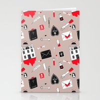 Haunted House / Murder Mystery ! Stationery Cards