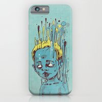 iPhone & iPod Case featuring The Blue Boy with Golden Hair by Dr. Lukas Brezak