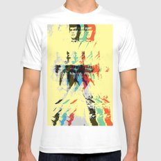 FPJ mello yellow Mens Fitted Tee SMALL White