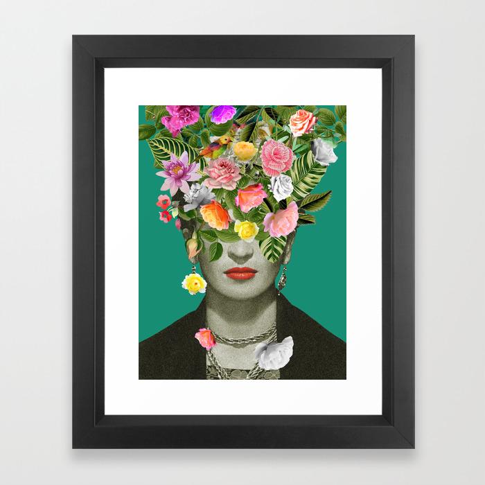 Peafaul Wall Art Print Poster Wall Art: Graphic-design Framed Art Prints