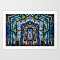 Kaleidoscape: Guadalajar… Art Print