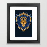 For The Alliance Framed Art Print