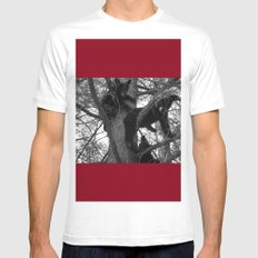 Berry Beary Mens Fitted Tee White SMALL