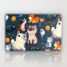 Cat Print Laptop & iPad Skin