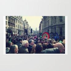 A London Parade  Rug