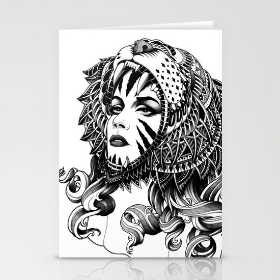 Tigress Stationery Card