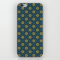 Flower Chain iPhone & iPod Skin