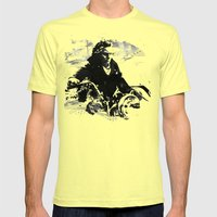 Beethoven Motorcycle Mens Fitted Tee Lemon SMALL