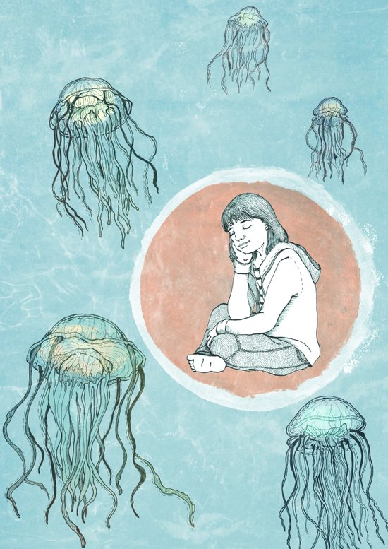 Jellyfish dreams Art Print