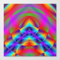 CAPSTONE RAINBOW Canvas Print