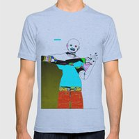 School's Out Mens Fitted Tee Athletic Blue SMALL
