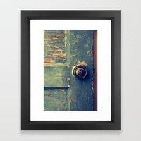 The Backdoor Framed Art Print